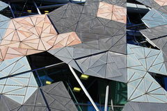 Federation Square Melbourne. In Australia royalty free stock photography