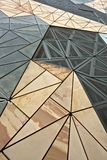 Federation Square, Melbourne. Architecture for Federation Square building in Melbourne stock photos