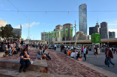 Federation Square - Melbourne Stock Photography