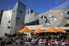 Federation Square Stock Photography