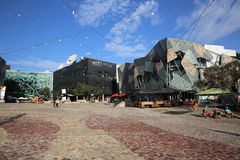 Federation Square Stock Image
