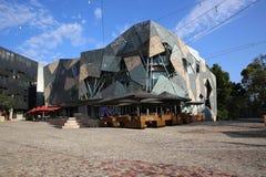 Federation Square. In Melbourne. Australia stock photos