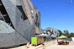 Federation Square Melbourne Royalty Free Stock Photos