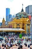Federation Square in Melbourne city cetre Stock Photography