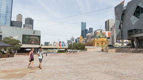 Federation Square, Melbourne Royalty Free Stock Photography