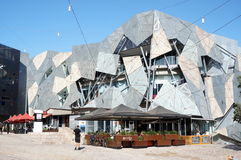 Federation Square, Melbourne royalty free stock photo