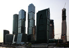 Federation Tower, 2012. Moscow Stock Images