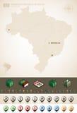 Federative Republic of Brazil Stock Photography