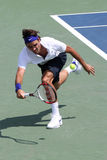 federer球员罗杰网球 免版税图库摄影