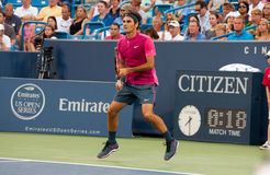 Federer 016 Obrazy Royalty Free