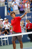 Federer Roger champion US Open 2008 (104) Stock Photography