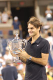 Federer Roger the Great (280) Stock Photography