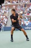 Federer Roger groot voor leeftijden (1) Stock Foto's