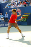 Federer Roger Meister US öffnen 2008 (85) Lizenzfreie Stockfotografie