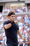 Federer Roger o grande (100) Imagem de Stock Royalty Free
