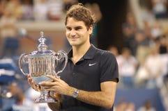 Federer Roger o grande (285) Imagens de Stock