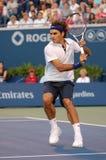 Federer Roger (SUI) à la cuvette 2008 (93) de Rogers images stock
