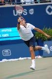 Federer Roger (SUI) alla tazza 2008 (107) del Rogers Immagini Stock Libere da Diritti