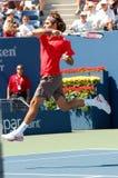 Federer Roger in US öffnen 2008 (6) Lizenzfreies Stockbild