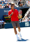 Federer Roger at US Open 2008 (28) Stock Images