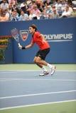Federer in US öffnen 2009 (10) Stockbilder