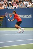 Federer at US Open 2009 (10). Federer is the first favourite of US Open 2009 Stock Images