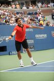 Federer at US Open 2009 (34) Stock Photo