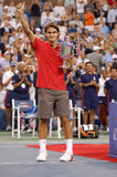 Federer won US Open 2008 (175) Royalty Free Stock Image