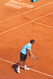federerspelare Rank den roger tennisöverkanten Royaltyfri Foto