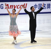 Federica Faiella and Massimo Scali (ITA Stock Image