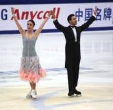 Federica Faiella und Massimo Scali (ITA Stockbild