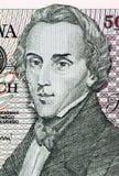 Federico Chopin Fotos de archivo