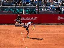 Federico Delbonis and Lucas Pouille Semifinals Match Stock Photography