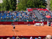 Federico Delbonis and Lucas Pouille Semifinals Match Stock Images