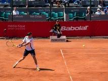Federico Delbonis und Lucas Pouille Semifinals Match stockfotografie