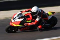 Federico Mandatori - Aprilia RSV4 Stock Images