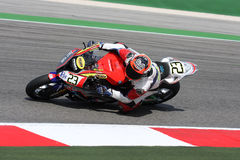 Federico Sandi - BMW S1000 RR - Grillini Progea Royalty Free Stock Photo