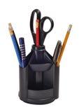 Federn und Bleistifte Stockfotos