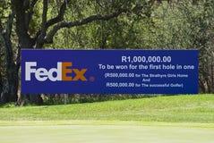 Fedex - 7de T-stuk - NCGs2010 Stock Afbeelding