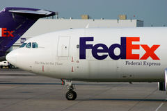 FedEx Airbus A300 nose Stock Image