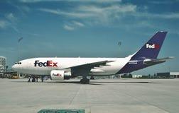 Fedex Airbus A310-222 N417FE 2 de junio de 2006 Imagen de archivo libre de regalías
