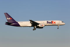 Fedex Boeing 757-200 Stock Afbeelding