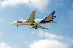 FedEx Cargo Aircraft Royalty Free Stock Image