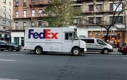 fedex ciężarówka Zdjęcie Royalty Free