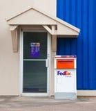 FedEx Drop Box Royalty Free Stock Photo