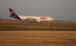 FedEx Express Cargo Jet Royalty Free Stock Image
