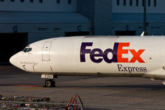 FedEx Federal Express Boeing 727 Royalty Free Stock Photo