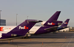 FedEx Federal Express Tails Stock Photography
