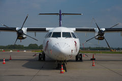 FedEx Feeder ATR 72 Royalty Free Stock Photos