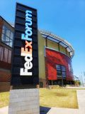 FedEx Forum - Memphis, Tennessee royalty free stock image